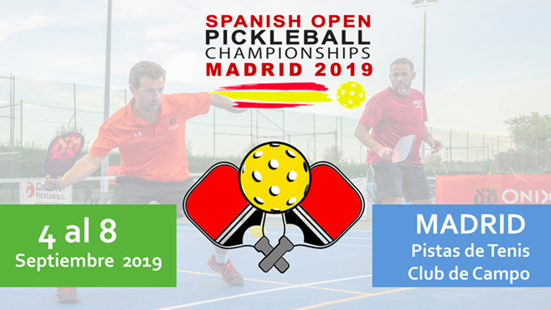 Alrededor de 200 jugadores disputan el Open de España de Pickleball