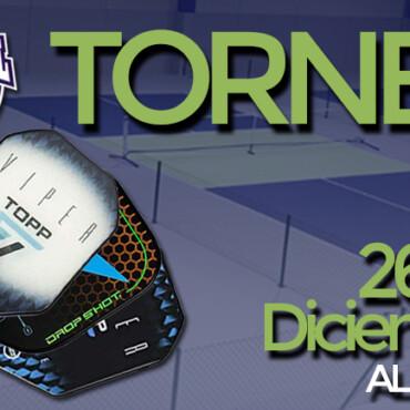 Torneo en Pickleball TOP los días 26 y 27 de Diciembre